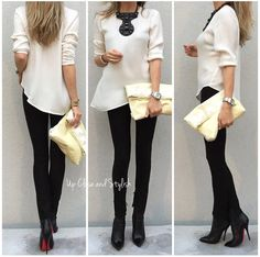 The black and white look