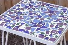 Mosaic Table Top Designs, Moongate Mosaics