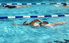Take your swimming up a notch with this 50-minute workout!