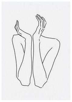 Sketch # 29 LINE ART PRINT minimalist line art woman body lines self drawing interior design minimal decor home artwork limited - Sketch 29 line art print minimalist line art woman Illustration Tattoo, Aquarell Tattoos, Drawing Interior, Doodle Art Designs, Line Artwork, Line Art Tattoos, Easy Art Projects, Body Drawing, Inspirational Artwork