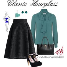 Classic Hourglass by colleen-hammond on Polyvore featuring Chicwish, Chanel, Erica Lyons and Essie