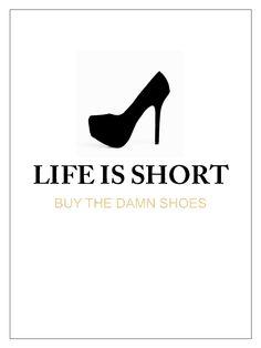 Life is short // Chic Blush