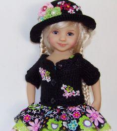 "Handmade Sundress Set made for Dianna Effner Little Darling 13"" Dolls"