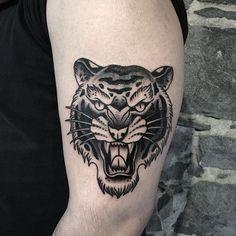 Tiger tattoo man girl #Branmakeyou