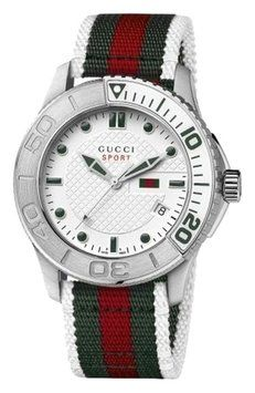 9533b898a34 Gucci  G Timeless  Nylon Strap Watch Mens Watch Brands