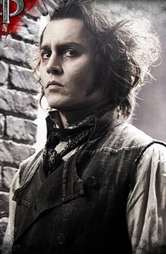 Sweeney Todd, very scary guy. Serial Killer. Urban Legend from London. No, he was never a real person, whatever you may hear.