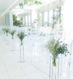# Vress et Rose # Wedding # white # chapel # Flower # Bridal #結婚準備# ブレスエットロゼ #ウェディング # 白# チャペル#ナチュラル #ガーデン#アーチ# 花 # ブライダル#教会#アジサイ#バージンロード#フラワー#挙式