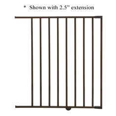Dreambaby Brighton Gate Extension - Brown - 22' -- Quickly view this special  product, click the image (This is an amazon affiliate link. I may earn commission from it)
