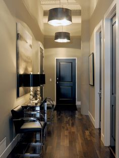 Black Interior Doors Design, Pictures, Remodel, Decor and Ideas