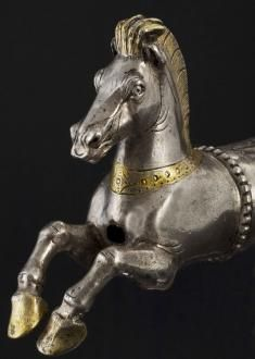Thracian silver horse From Varna,Bulgaria