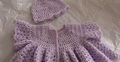 Free Crochet Patterns and Designs by LisaAuch: Free Crochet Pattern Beautiful Vintage Swing Baby Cardigan (0-3 months)