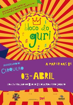 On April 3rd, Projeto Guri will invade the streets of Cerquilho with the Guri Block! You are all invited but first, listen to the samba plot of the guri Block: http://soundcloud.com/projeto-guri/samba-enredo-guri =)