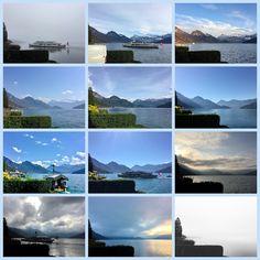 Edgarten - Gartenblog: 👁 12tel Blick Seeenge Nas - kühler November November, Desktop Screenshot, Mountains, Nature, Travel, Collagen, Sunrise, Tourism, Places