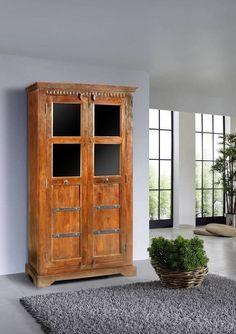 Amazing Kleiderschrank OXFORD aus Akazie xx cm Kolonialstil massivmoebel de Wohnung M nchen Pinterest Kolonialstil Kleiderschr nke und