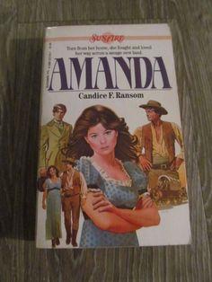 A Sunfire Book: Amanda No. 1 by Candice Ransom (1984, Paperback)