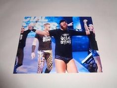 Michael McGillicutty CURTIS AXEL WWE autographed 8x10 photo COA Memorabilia Lane