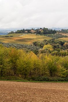 Tuscany Montespertoli range Florence Italy
