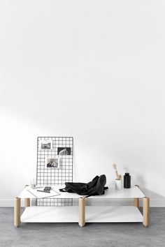 T.D.C    Heavystock Table by Knauf & Brown for Esaila