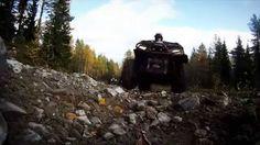Video from the quad/ATV tracks around Tahko, Kuopio, Finland.