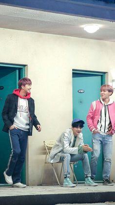 BTS Spring Day❤ Rap Monster, Suga & J-Hope