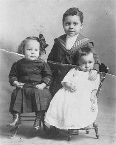 Children of Henry Boswell - Nanticoke/Delaware - circa 1920