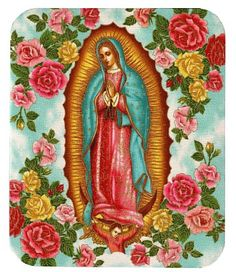 Lucy Lu Our Lady of Guadalupe Business Card Case Religious Icons, Religious Art, Religious Pictures, Madonna, Mama Mary, Divine Mother, Mother Mary, Photo Images, Business Card Case