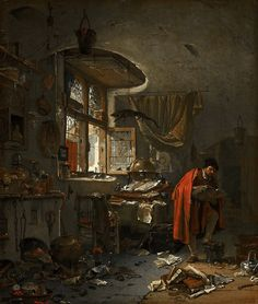 Thomas Wijck - The Alchemist | Flickr - Photo Sharing!