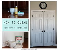 I recently posted a question to my readers and asked what their biggest cleaning conundrums are. I received a lot of great questions that I'm planning to cover in upcoming posts. Today we are going to look at methods of cleaning woodwork, doors and cupboards, as this seems to be a common cleaning issue with... (read more...)