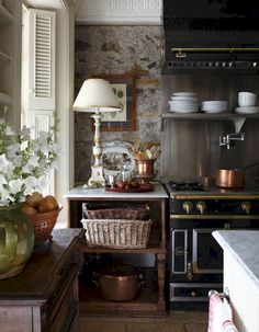 40+ amazing french country kitchen modern design ideas (2)