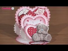 ▶ How To Make a Triple Easel Card | docrafts Creativity TV - YouTube