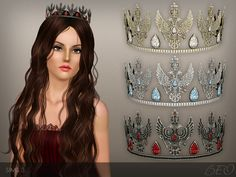 TIARA ''EAGLE'' by BEO - Sims 3 Downloads CC Caboodle