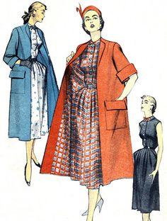 1950s Dress Pattern and Jacket Advance 5776 by paneenjerez on Etsy, $16.00