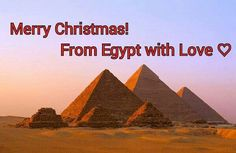 Greetings from Egypt ♡