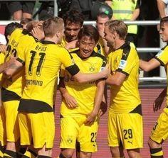 Marco Reus , Marcel Schmelzer & Shinji Kagawa BVB vs FCI