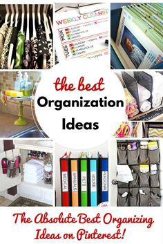 These organization ideas are going to be your BFF in the new year! Who is ready to get their ducks in a row. This is the point each year when I begin to crave organization.