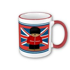 Royal Guard Bear #London Coffee Mug $16.90