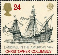 Royal Mail Special Stamps | Europa '92  Landfall in the Americas 1492. Christopher Columbus