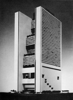 rifles:    Western International Hotel, Times Square, New York, 1973 (Project) (John Portman)