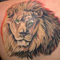 Basic Lion Tattoo