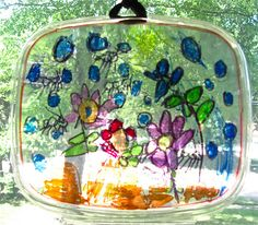 Plastic Lid Sun catcher with markers