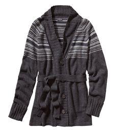Nordic-inspired crewneck jersey-knit lambswool sweater. #EcoFashion Men @Patagonia