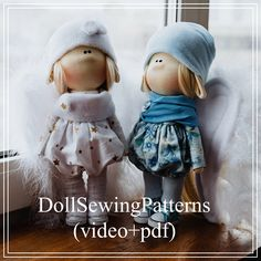 I will teach you how to sew a doll with angel wings. Doll, this rag doll, cloth doll, sewing doll model, textile doll model, rag doll model, Textile doll 11 inches, in a dress, a doll with cheeks, a nose and ears of an elf, clothes will not be removed, the doll is standing. Long hair. Dry clean! Handmade.