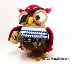 Owl Crochet Patterns by Tamara Nowack