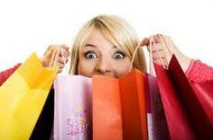 Impulsive spending/buying.  IMPETUOUS.
