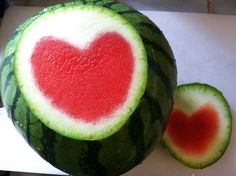 Click link for tons of watermelon inspired desserts. This link has nothing to do with my last pin. This in NOT the Japanese farmer who has the perfected the art form of the heart shaped melon. #Watermelon #Recipes