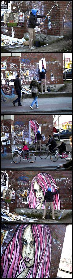 Beyond Banksy Project / El Bocho - Hamburg, Germany