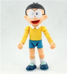 22.75$  Buy now - http://ali7kl.shopchina.info/go.php?t=32347629358 - S.H.Figuarts Nobita Nobi from Doraemon Anime PVC Action Figure ROBOT Figurine 10CM  #buyonlinewebsite