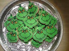 Grinch Cookies!!