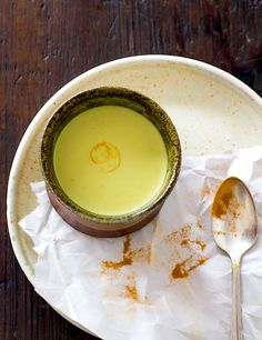 A recipe for Soothing Turmeric Milk and details on what the autoimmune protocol (AIP) is and how it can help heal autoimmune disease through real food.