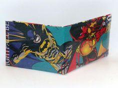 Comic Book Wallet// Batman and Azrael, $4.00